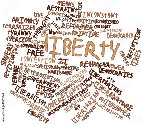 Word cloud for Liberty
