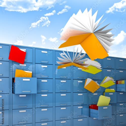 flying files