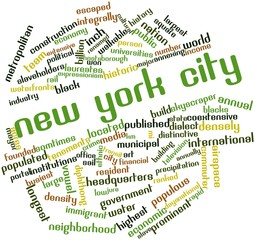 Word cloud for New York City