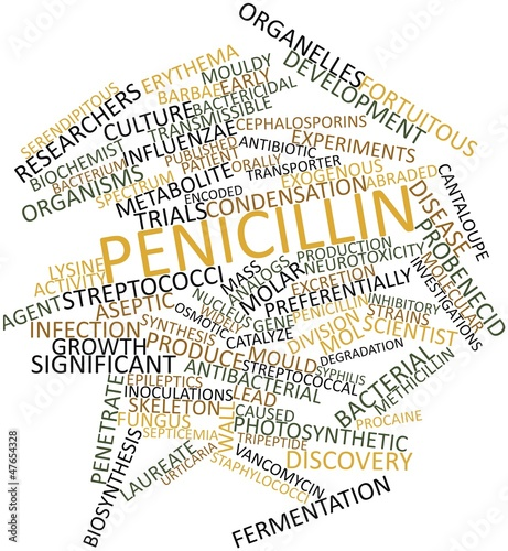 Word cloud for Penicillin