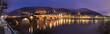 Heidelberg Panorama bei Nacht