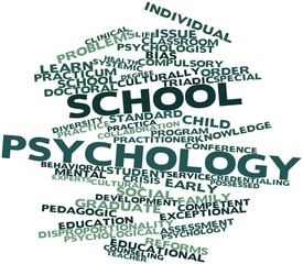 Word cloud for School psychology