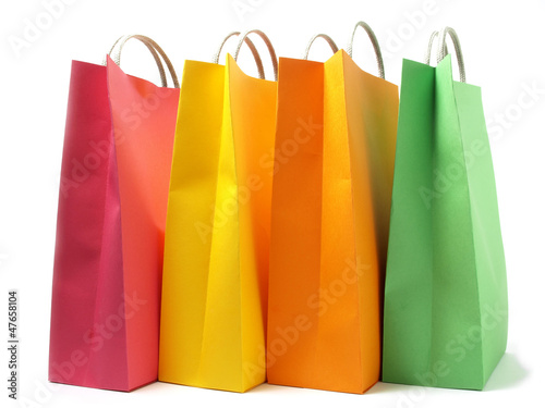 Colored bags