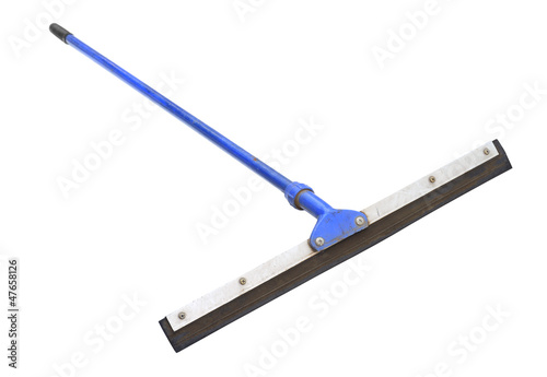 Floor squeegee isolated on white background