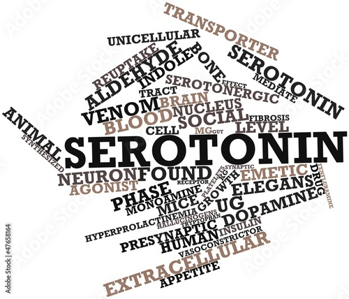 Word cloud for Serotonin