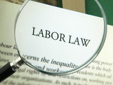 Terms of labor law poster