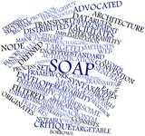 Word cloud for SOAP