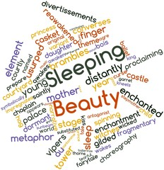 Word cloud for Sleeping Beauty