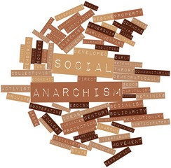 Word cloud for Social anarchism