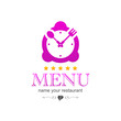 kitchen clock menu icon logo