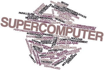 Word cloud for Supercomputer
