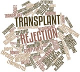 Word cloud for Transplant rejection poster