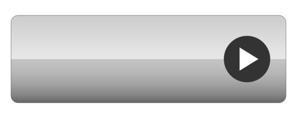 BLANK web button (rectangular arrow blank black grey)