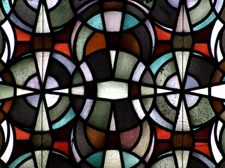 Pattern in stained glass - 2