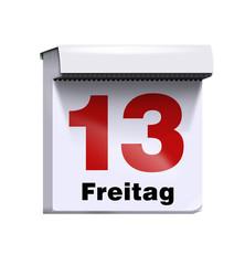 kalender freitag der 13.