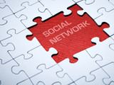 Social network - missing pieces of a jigsaw