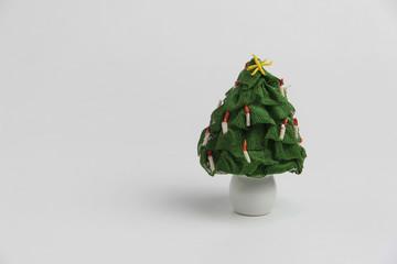 albero di natale in miniatura