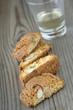 biscotti alle mandorle con grappa