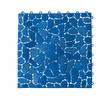 Anti slip plastic tile for bathroom or wet area