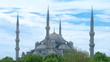 Sultanahmet Mosque time-lapse video. Istanbul, Turkey.