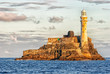 Fastnet Lighthouse, Ireland - at sunset