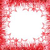 Frame - red Garland