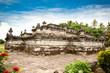 Candi Penataran temple in Blitar on  Java,  Idonesia.
