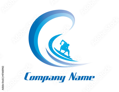surf business logo