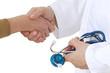 Hôpital - Poignée de main