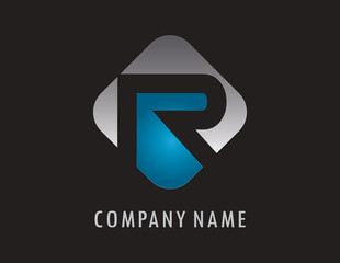R business logo