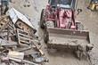 humanitarian aid bulldozer