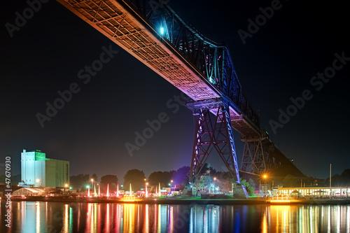 Eisenbahnbrücke - Rendsburg