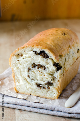Bread with filling