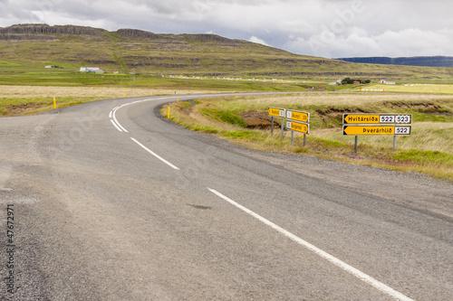 Crossroad - Iceland.