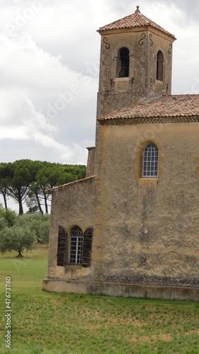 L'église de Lourmarin (Vaucluse)