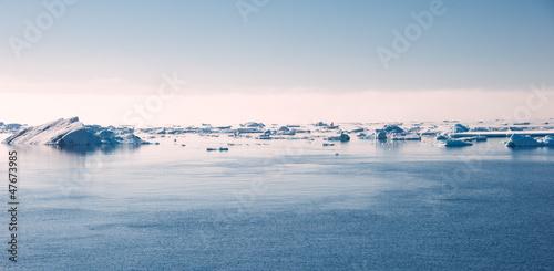 Antarctic ocean on the sun