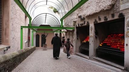 kreuzgang im kloster montserrat