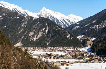 Ski resort Mayrhofen