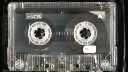 Audio cassette playing