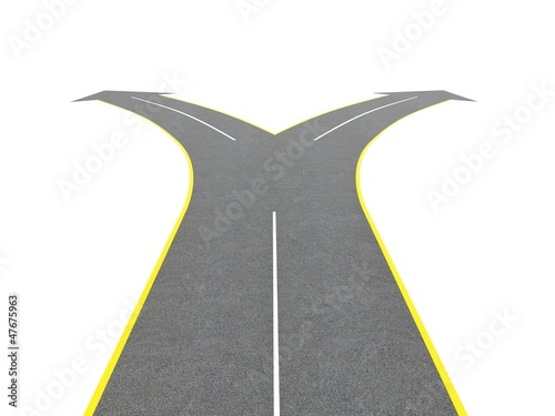 Road bifurcation