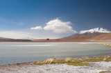 High Andes Lake, Bolivia