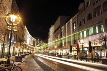 Stadt bei Nacht | Straße bei Nacht