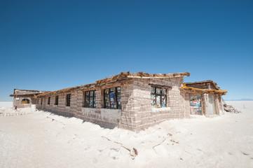 Salar de Uyuni  Salt Hotel museum - Bolivia