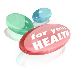 For Your Health Dietary Supplements Vitamins Capsules Pills