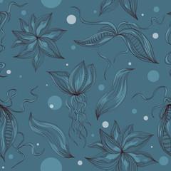 морской бесшовный фон