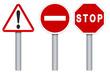 Signalisation icone - Ensemble panneaux routiers