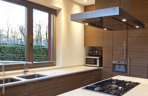 modern kitchen, interior
