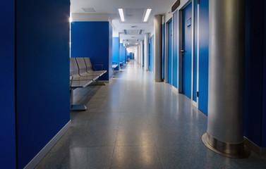Sala de consultas de un hospital