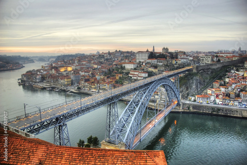 Ponte Luis I bridge, Porto, Portugal