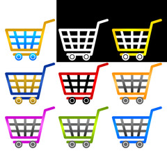 Vector shopping carts